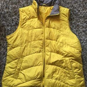 Lands End XL yellow vest.